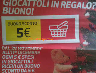 Logo Spendi&Riprendi giocattoli da Coop: ogni 5 euro spesi riprendi 5 euro in buoni sconto