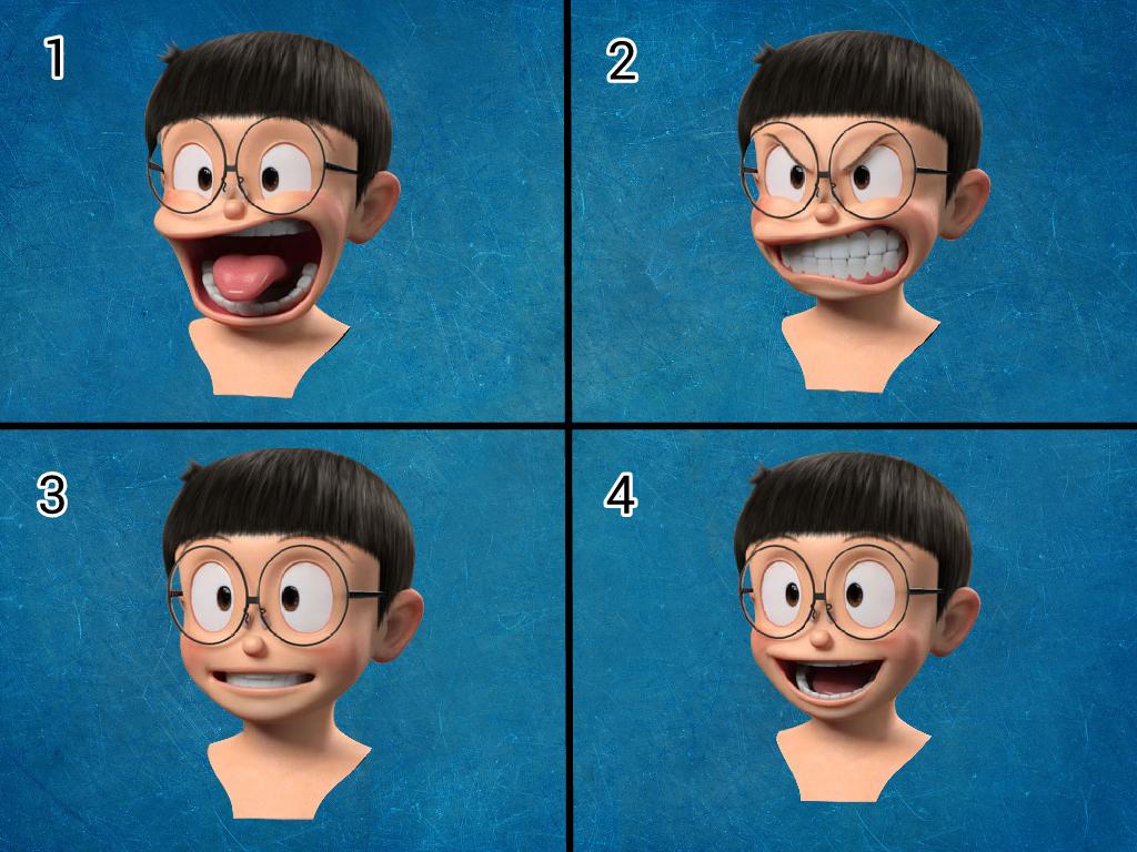 35 Terbaik Untuk Gambar Kepala Nobita Keren Mopppy