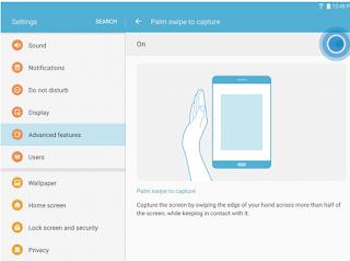 Cara Screenshot Samsung Galaxy Tab S3 dan Semua model