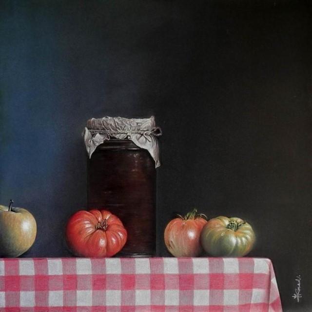 Andres Colao, испанский, художник, самоучка