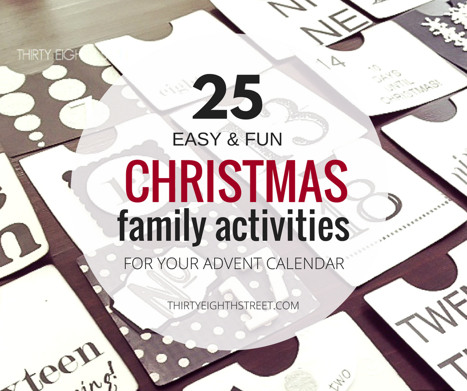christmas family activities, activity advent calendar, modern advent calendar, christmas activities, family activities in December, advent calendar christmas, advent calendar for kids, making advent calendar, modern advent calendar, paper piecing, scrapbook paper advent calendar