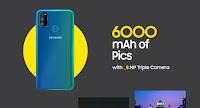 Samsung M30s camera, Samsung M30s back camera