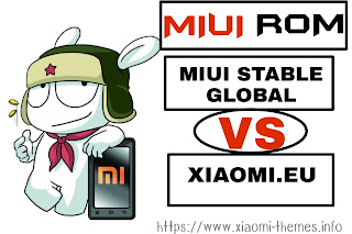 Comparison between Xiaomi.eu and MIUI stable ROM