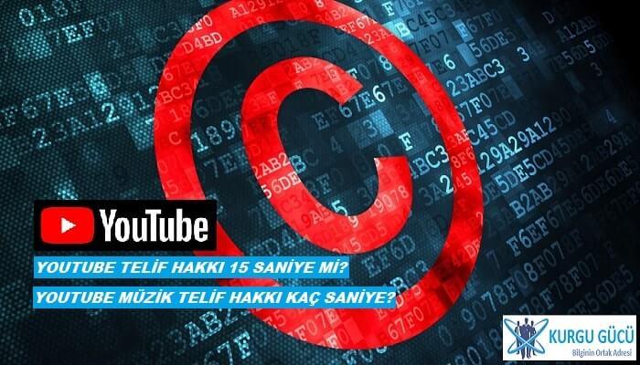 Youtube Telif Yememek İçin 15 Saniye Yeterli mi? - Kurgu Gücü