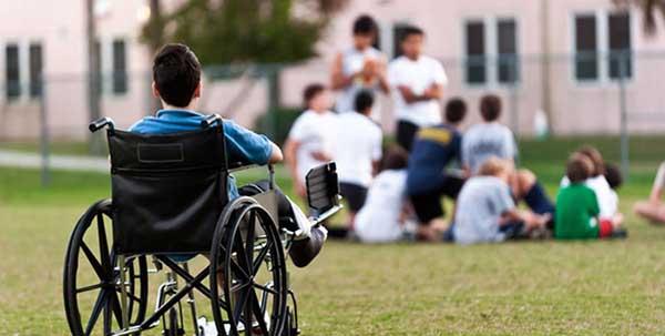 المعاقين,ذوي الاحتياجات الخاصة.
