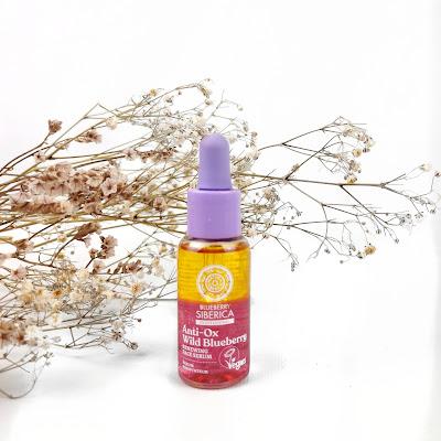 BLUEBERRY SIBERICA -  serum facial renovador antioxidante bifásico