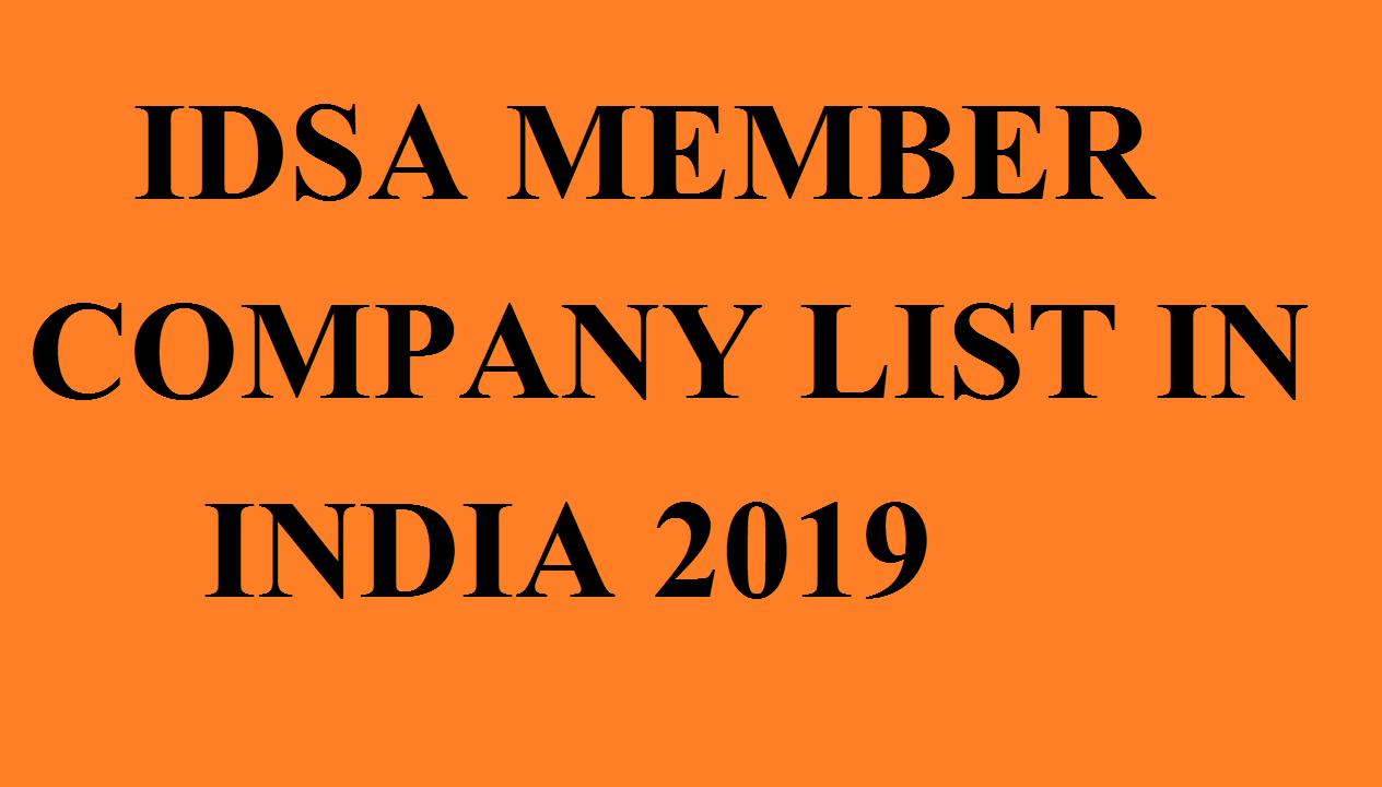 IDSA Member Company list 2019 - Indian Direct Selling Association