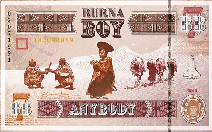 [LYRICS & AUDIO] Anybody - Burna Boy