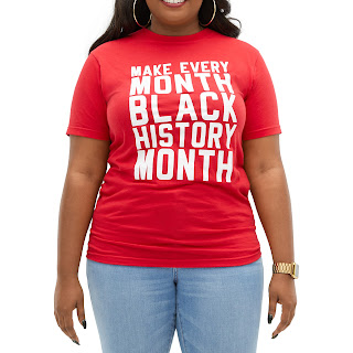 Make Every Month Black History Month T-Shirt
