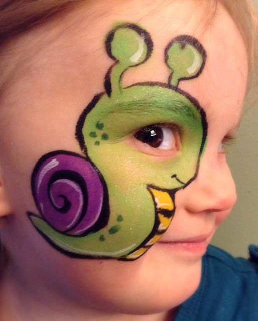 maquillage enfant escargot