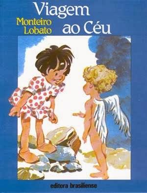 viagem ao céu - monteiro lobato - editora brasiliense - sítio do picapau amarelo - manoel victor filho - jacob levitinas - década de 1990 - década de 2000 - capa de livro - bookcover