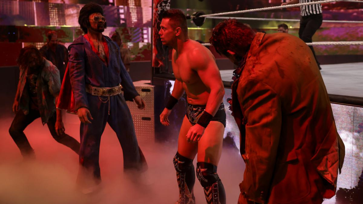 The Miz at WWE WrestleMania Backlash