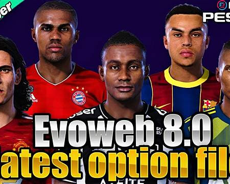 PES 2020 Option File For EvoWeb Patch V8