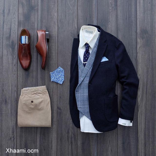 Men Fashion Collection Blue