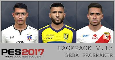 PES 2017 Facepack v13 by Seba