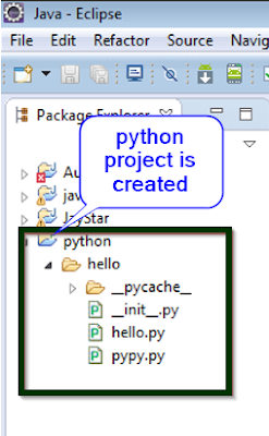 Verify Pydev install in eclipse