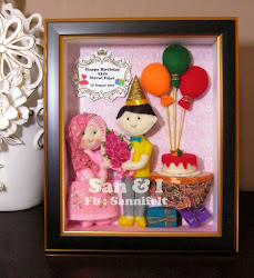San & I Doll, Boneka Berbahan Kain Flanel