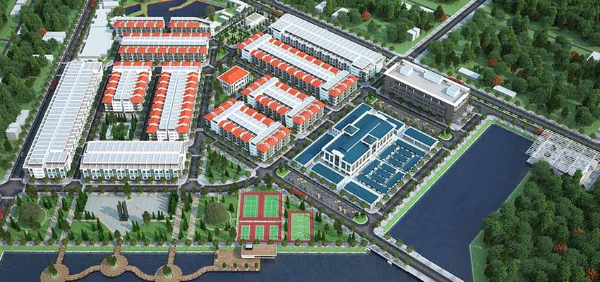 Khu dân cư thương mại chợ mới Bích Động Việt Yên Bắc Giang