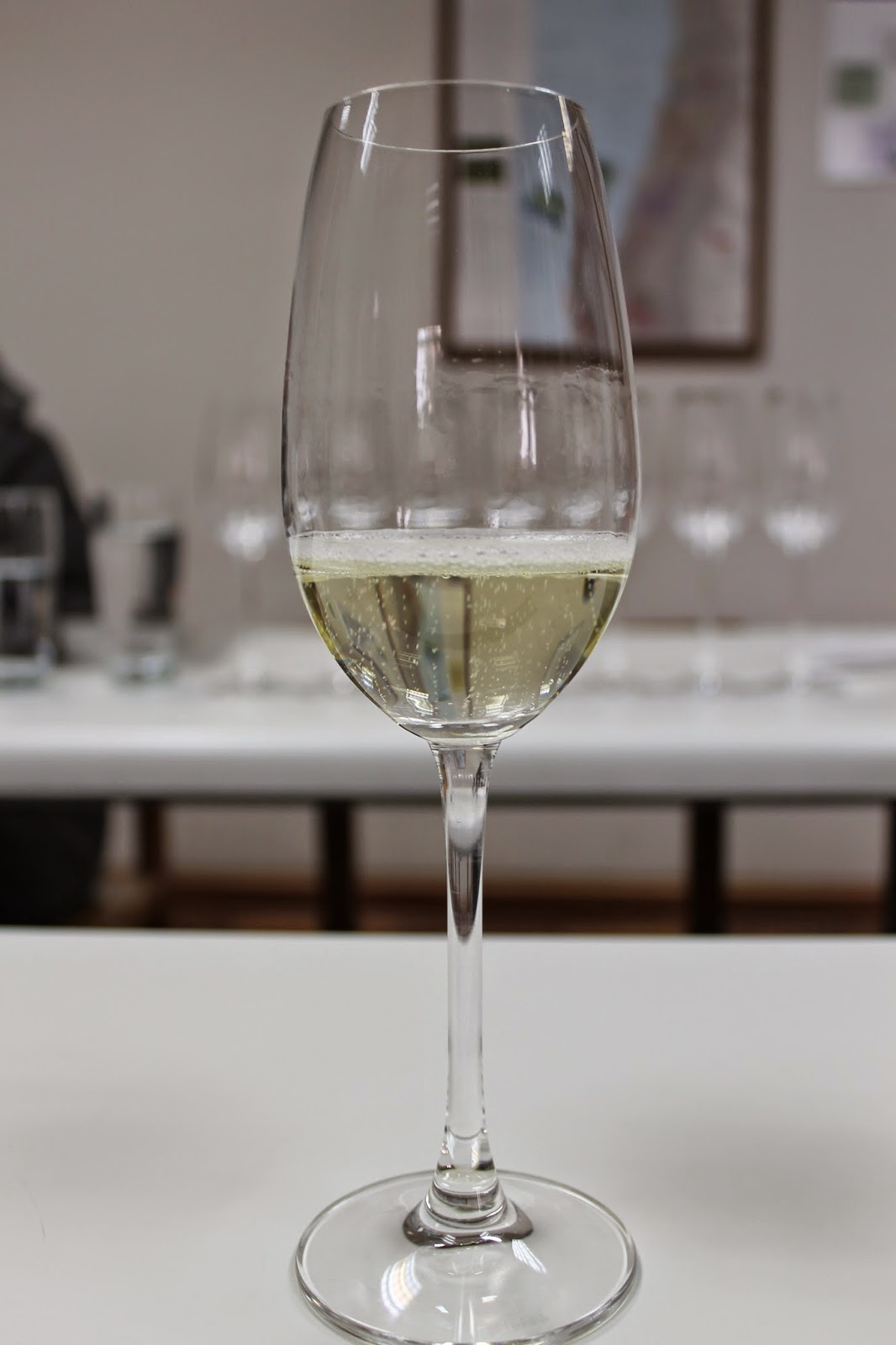 Champenoise method sparkling wine
