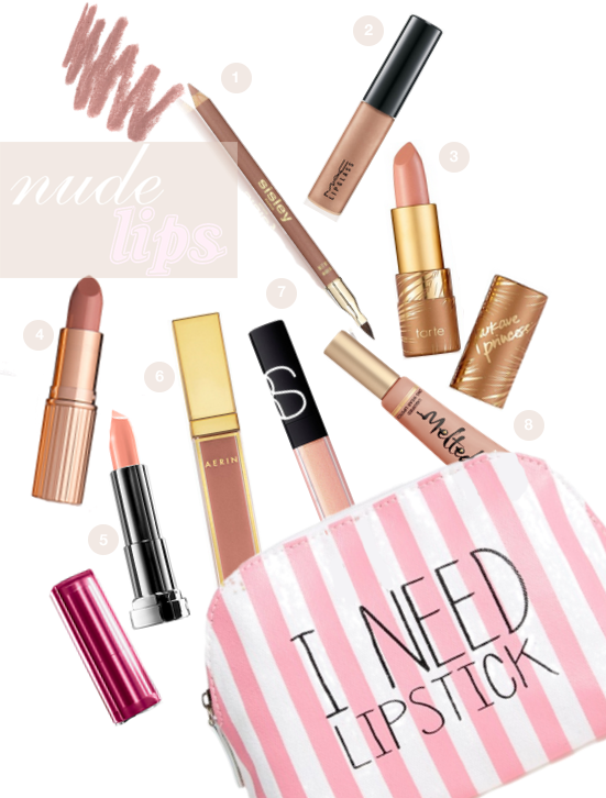 Nude Lipsticks from A Good Hue
