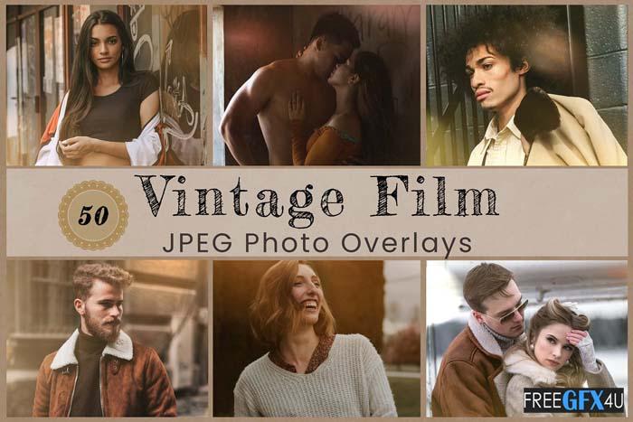 50 Vintage Photo Overlay