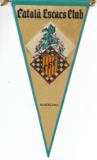 Banderín del Català Escacs Club