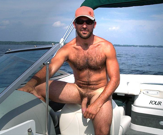 boating nude house