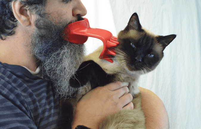 36 Genius Yet Inexpensive Products That Can Save Lives - This Lick Brush Will Make Your Cat Love You