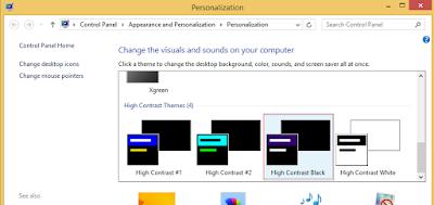 Cara Membuat Tampilan Windows 8 Menjadi Dark Mode