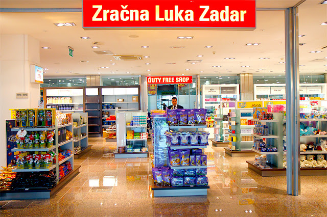 duty free shop Zadar Airport