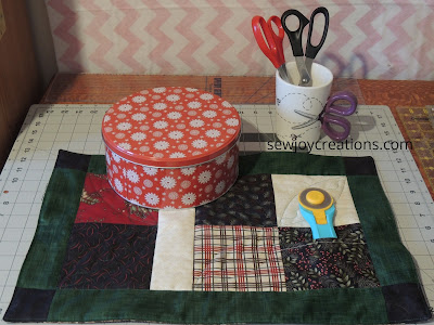 9s a charm placemat pattern Sew Joy Creations