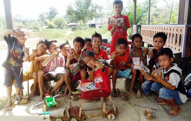 Taman Baca Di Kalimantan Tengah