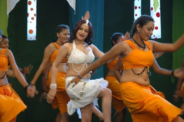 Sonia Agarwal Looking Hot in White Outfit