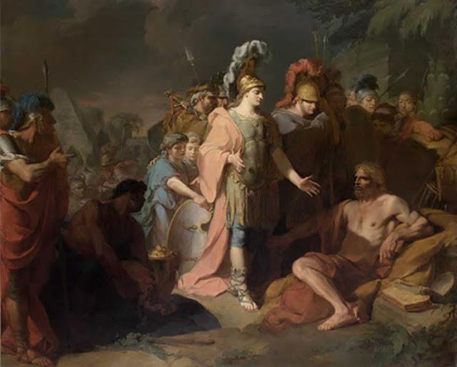 Alexandre e Diógenes