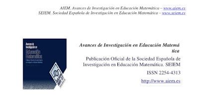 Revista Investigación Educación Matemática AIEM SEIEM