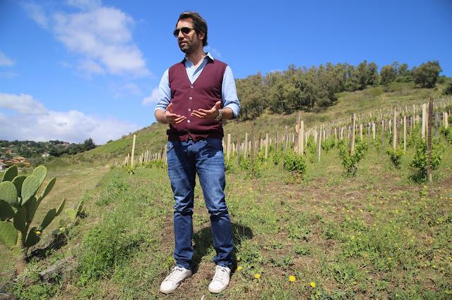 Salvino Benante, Benante winery, sicily