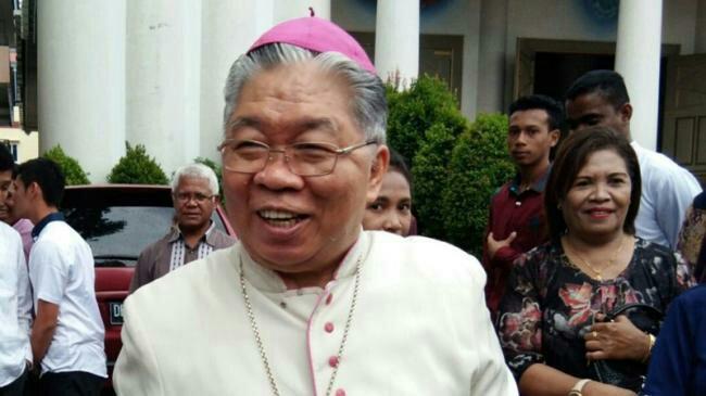 Mgr Petrus C Mandagi Diangkat Paus Fransiskus Menjadi Uskup Merauke