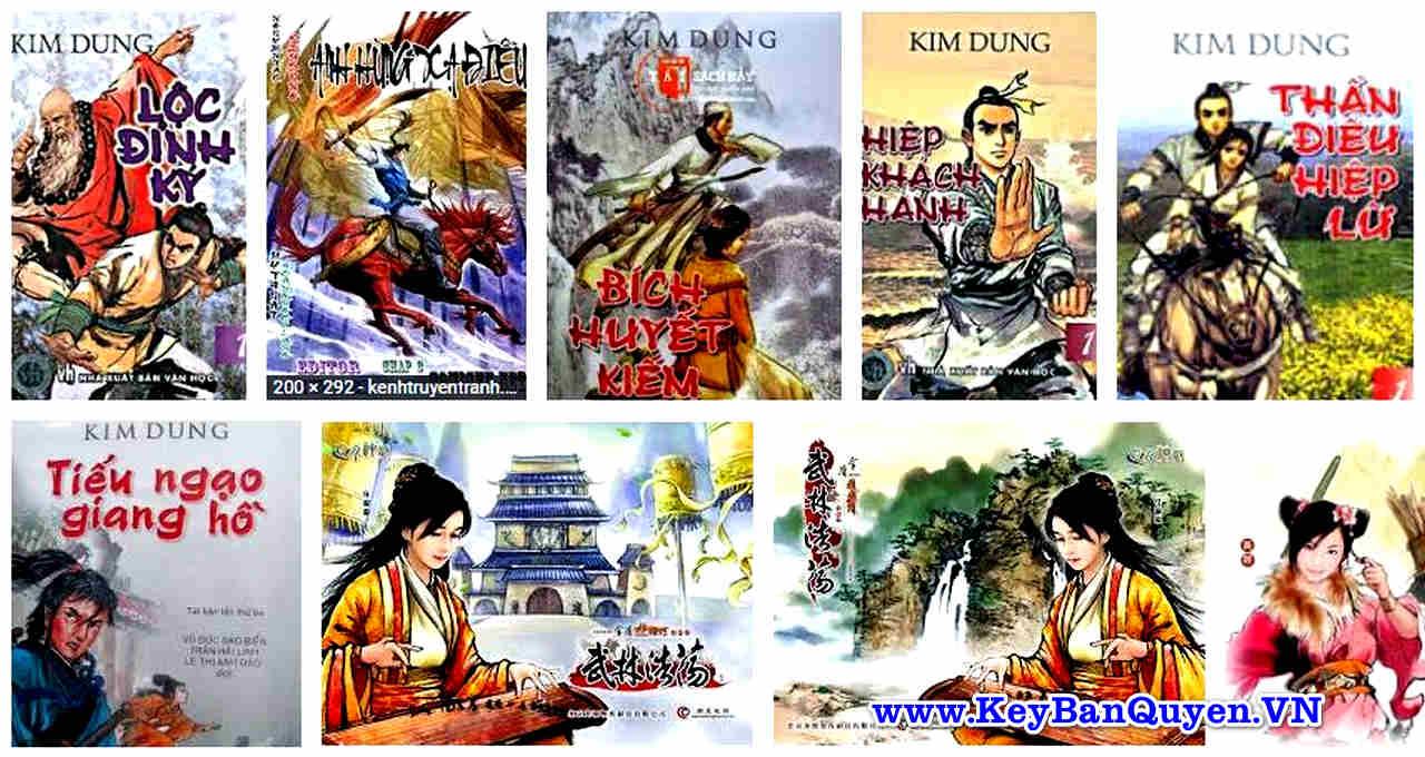 Trọn bộ Audio ( Sách nói ) truyện kiếm hiệp của nhà văn KIM DUNG.