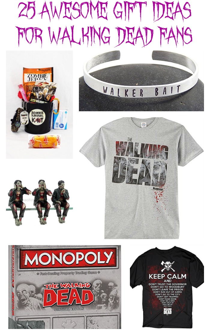 Sweet Silly Sara 25 Awesome Gift Ideas For Walking Dead Fans