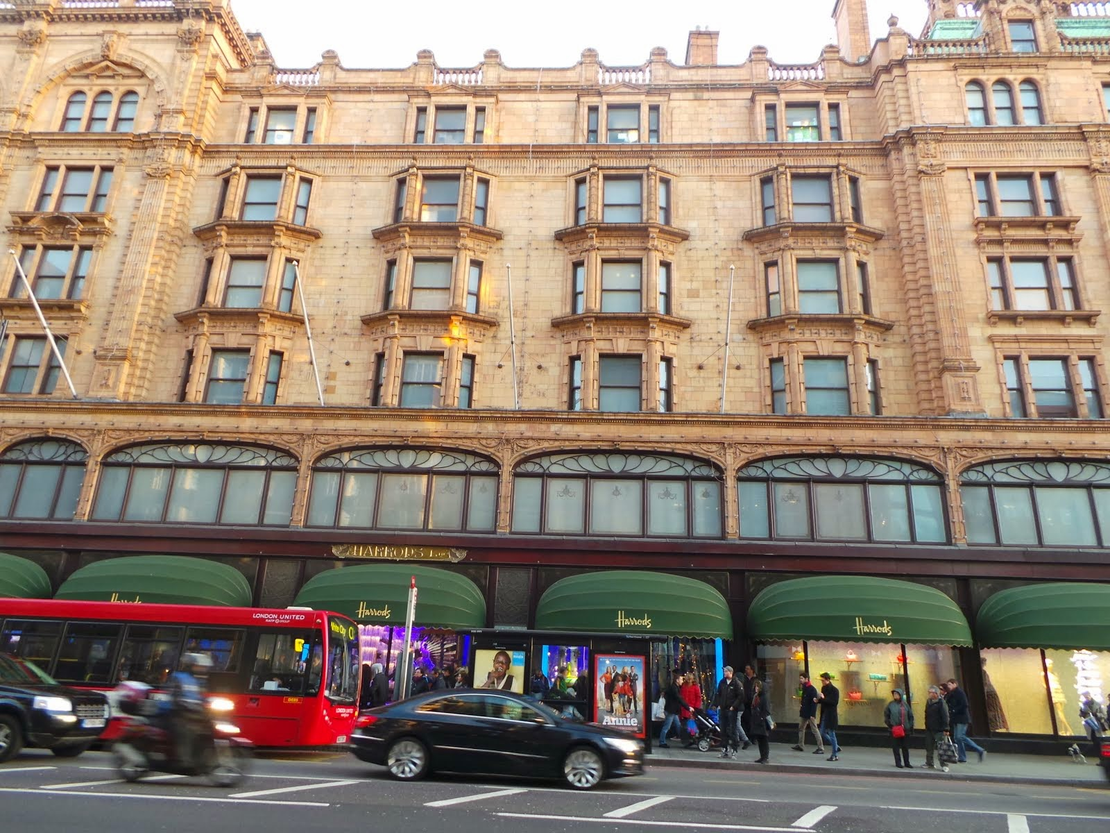 London Harrods at Knightbridge