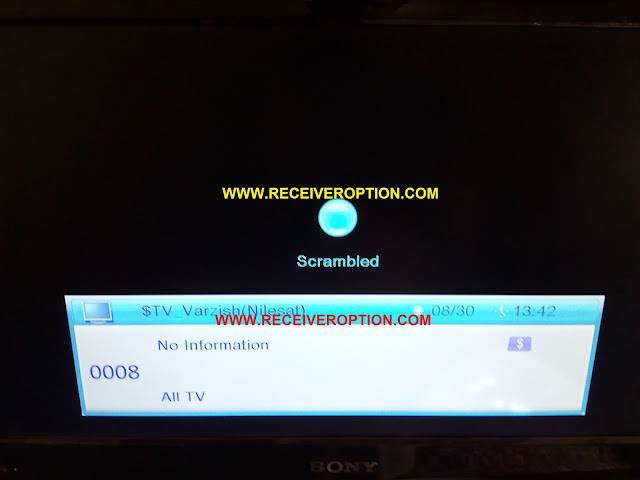 ECHOLINK 7110 PLUS HD RECEIVER BISS KEY OPTION