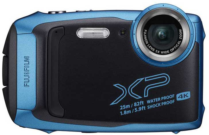 fujifilm finepix xp140 waterproof camera