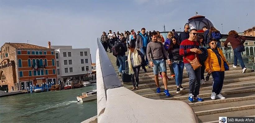 Ponte da Constituição - O que fazer em Veneza