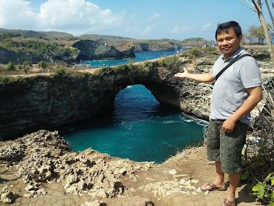 Nyoman Pasek Broken Beach Nusa Penida