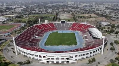 National Stadium, Santiago de Chile.