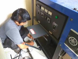 SERVICE GENSET AREA PANTAI INDAH KAPUK JAKARTA