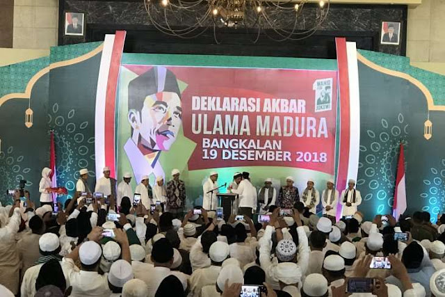 Jokowi Heran Disebut Anti-Ulama
