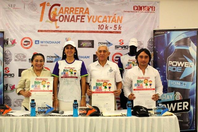 Carrera Conafe, por la educación de Yucatán