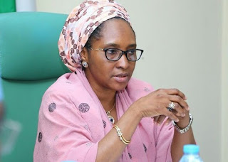 Minister Of Finance Budget And National Planning Mrs Zainab Ahmed Announces That The Federal Government Cuts Down 2020 Budget