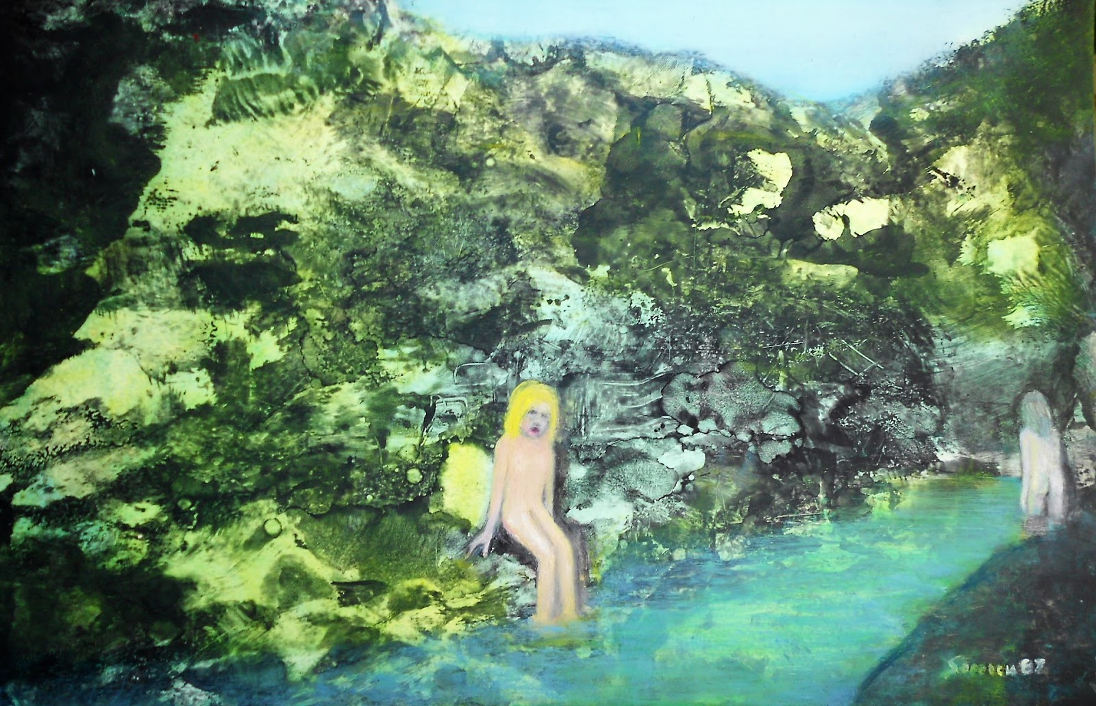Australian Art Magic Realism In Painting By Esteban Simich